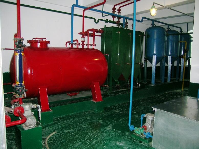 浸出车间溶剂油回收系统