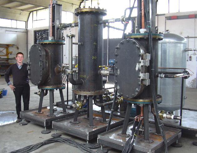 间歇式炼油设备