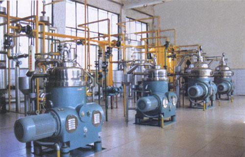 连续精炼油设备