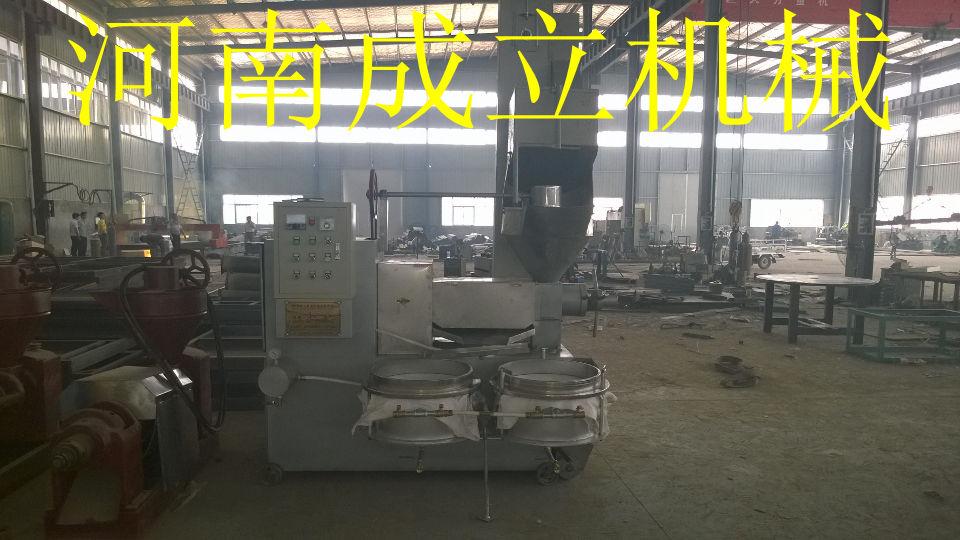 6YL-120型螺旋冷榨机