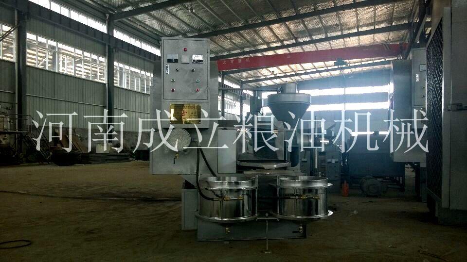 6YL-100型热榨螺旋榨油机
