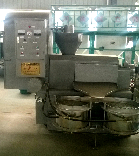 6YL-110型冷热两用多功能螺旋榨油机