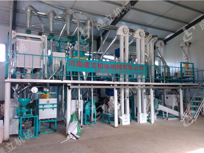 50吨玉米深加工设备